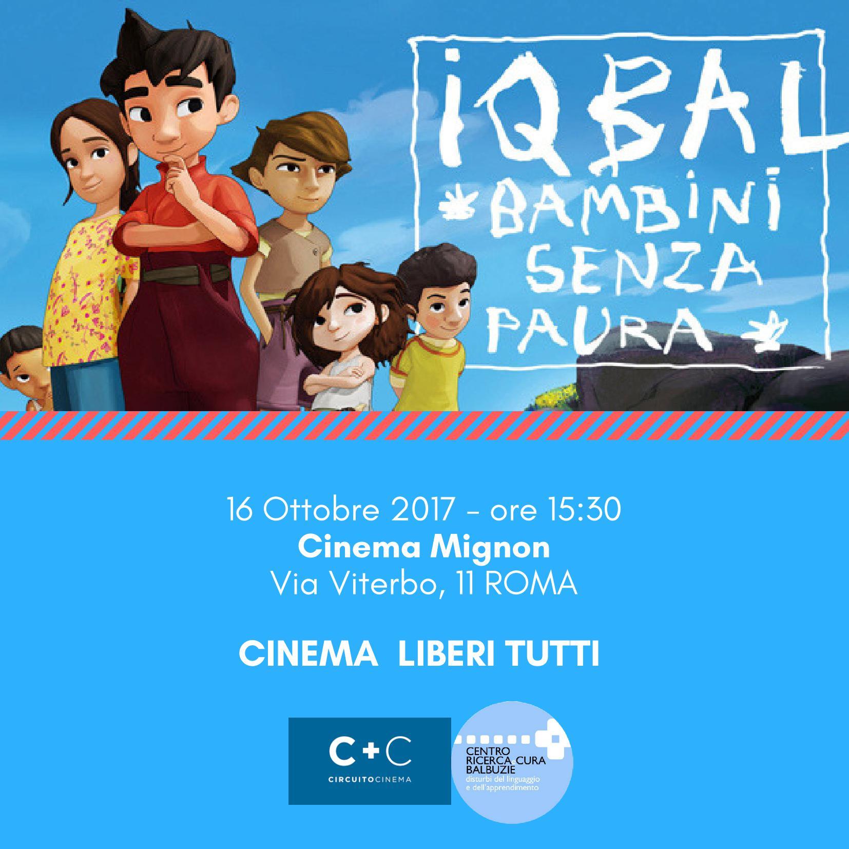 Cinema Liberi Tutti - Iqbal