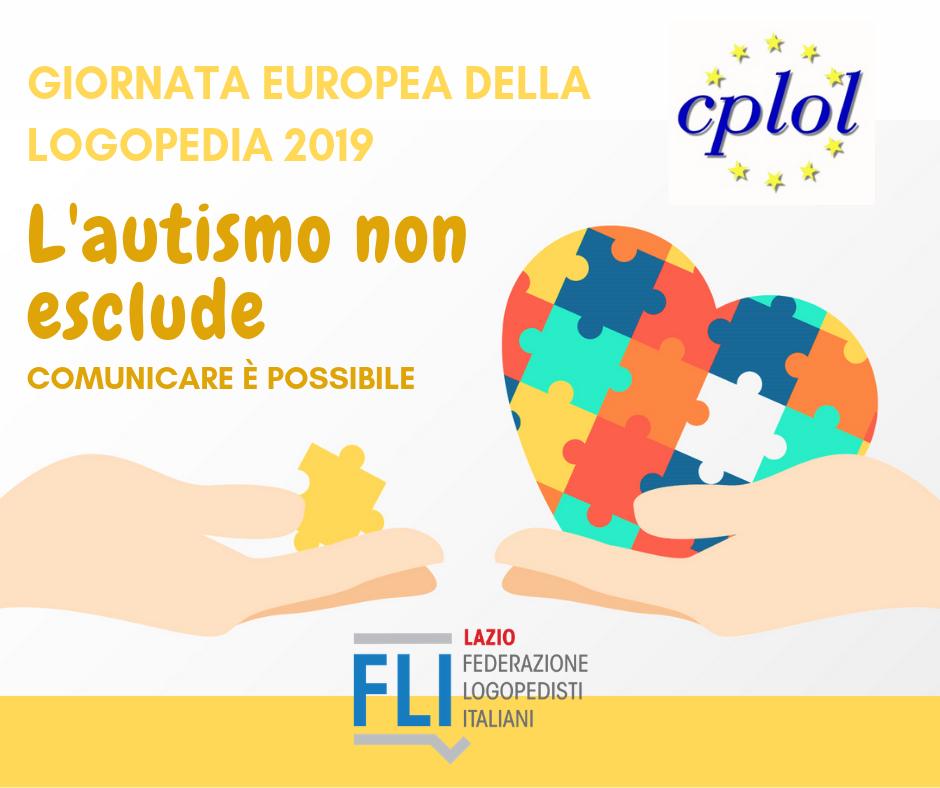 Giornata Europea della Logopedia 2019